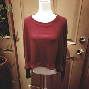 Abound Oversized  Dolman Sleeve Pullover womens XS